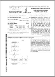 international bureau wipo international pct patent application published arctran