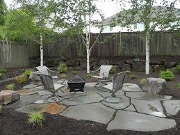 Backyard Patio Ideas With Fire Pit by Adorable Small Backyard Patio Ideas With Modern Iron Portable Fire
