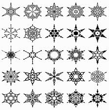 25 unique snowflake shape ideas on snowflake