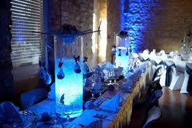 mariage bleu et blanc mariage en dégradé de bleu anyflowers fr