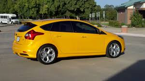 ford focus st yellow photo 5 of 7 from tangerine scream