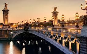 magical night wallpapers paris pont alexandre iii france magical night hd desktop wallpaper
