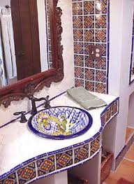 Mexican Tile Bathroom Ideas Colors 57 Best Hacienda Bathroom Ideas Images On Pinterest Haciendas