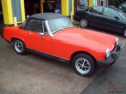 mg midget 1500 vermillion red low mileage stunning look