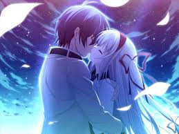 imagenes anime kiss romance anime love couple kissing images hd
