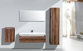 Wall Mounted Mirror Cabinet Bathroom Forniture Set N1200 Wood Mirror Cabinet And Wall