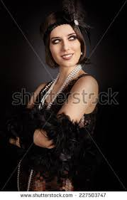 roaring 20 s fashion hair 1920s fashion stock images royalty free images vectors