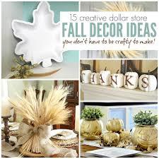 15 creative dollar store fall decor ideas anyone can make