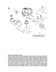 craftsman tractor parts model 917288280 sears partsdirect