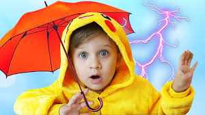 learn colors with umbrellas for babies сolored rain kids songs