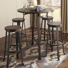 Small Bar Table Contemporary Glass Small Bar Unit Dc Furniture - Kitchen bar table set