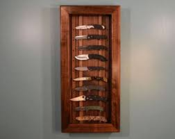Wall Mounted Glass Display Cabinet Singapore Knife Display Case Etsy