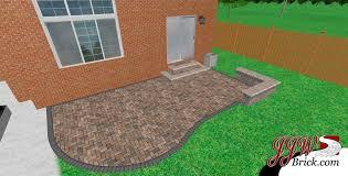 Brick Paver Patio Design Ideas Small Paver Patio Design In Birmingham Mi 48009 Brick Paving