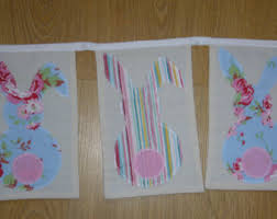 Easter Decorations Bunting by Easter Bunting Etsy