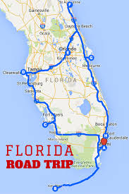 Map Of Clearwater Florida by Uncover The Perfect Florida Road Trip
