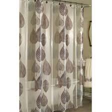 Shower Curtain At Walmart - excell home fashions gossamer leaf fabric shower curtain walmart com