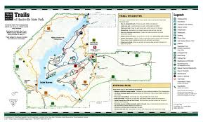 Map Of Arkansas State Parks by Trails Of Huntsville State Park The Portal To Texas History