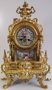 beautiful clocks antique clocks 19th c french a d mougin bronze u0026 sevres porcelain