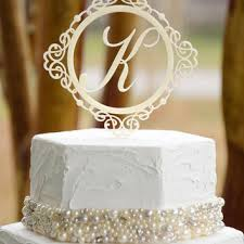 wedding cake toppers initials shop wedding toppers initials on wanelo