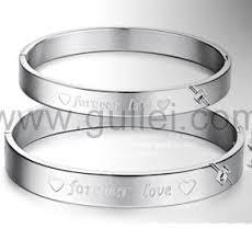 custom engraved bracelet forever hearts custom engraved friendship bracelets set