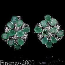 emerald green earrings emerald earrings ebay