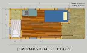 Standard Measurement Of House Plan by Tiny House Prototype That Meets 2015 Irc Minimum Area Requirements