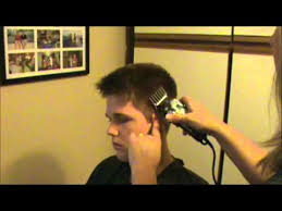 boys haircut clipper number easy how to men s boy s clipper hair cut youtube