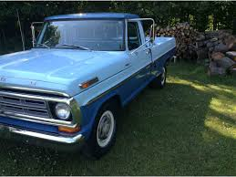 1972 ford f250 cer special 1972 ford f250 for sale classiccars com cc 997596