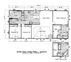 Golden West Homes Floor Plans by Gle601s 3 Bed 2 Bath 1 720 Sqft Affordable Home For 97 900