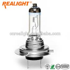 halogen lamp more light car headlights bulbs uv filter realight h7