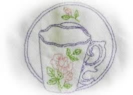 embroidered appliqueed cotton tea towels designer tea towel gift
