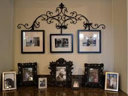 iron scroll wall art wrought iron picture hanger with revamped frames for the house