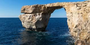 the azure window arco natural destruido por tempestad malta