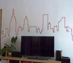 nyc skyline washi tapes pinterest nyc skyline room and dorm