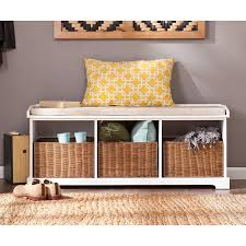 Bench For Foyer by Amazon Com Southern Enterprises Loring Entryway Storage Bench In