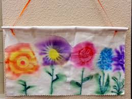 sharpie tie die spring banners choices for children