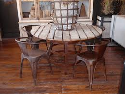 Vintage Bistro Table And Chairs Vintage Industrial Metal Bistro Chairs Hudson Goods Blog