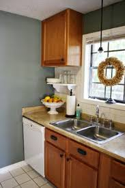 Kitchen With Oak Cabinets Design Inspiration For Kitchen With Oak Cabinets Like The Paint