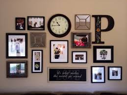 Wall Decor Ideas Pinterest by Picture Frame Wall Decor Ideas Decorations Home Entrance Wall