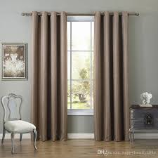 Grey Beige Curtains 2018 135 260cm Bedroom Curtains Blakout Window Curtain Shading