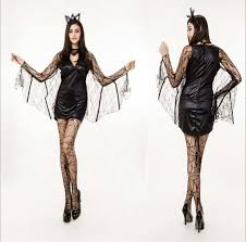 black evil vire bat costume costumes plays