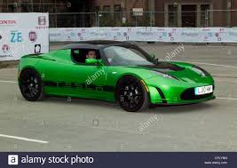 tesla supercar tesla roadster a high performance all electric sports car being