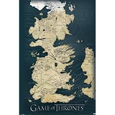 us map of thrones of thrones map wall poster prints posters prints