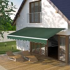 Retractable Awnings Ebay Patio Awning Canopy Retractable Deck Door Outdoor Sun Shade