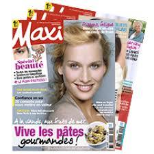 abonnement magazine maxi cuisine abonnement magazine maxi abobauer com