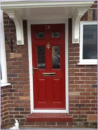 front door paint colors red brick house painting home design