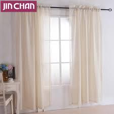 online get cheap beige embroidered sheer curtains aliexpress com