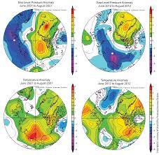 World Temperature Map October by October 2012 Arctic Sea Ice News And Analysis