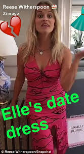 Legally Blonde Meme - reese witherspoon channels elle woods as she marks legally