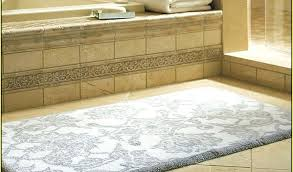 Bathroom Rug Runner Washable Bathroom Runner Rugs Simpletask Club